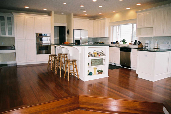 A Modern Farmhouse Kitchen by Amcraft Custom Cabinetry & Countertops