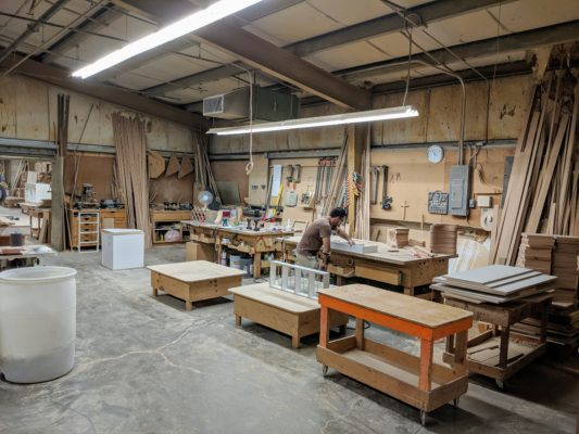 The Amcraft Workshop in McMinnville, Oregon